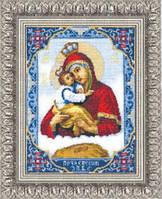 """Набор для вышивания Чарівна мить """" Икона Пресвятой Богородицы Почаевской"""""""