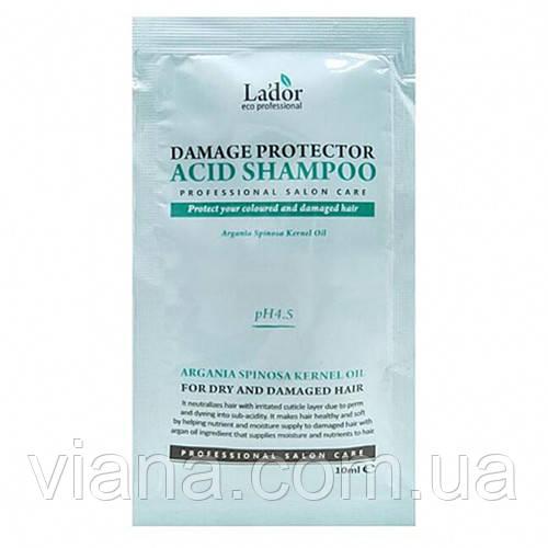 Профессиональный шампунь LADOR Damage Protector Acid пробник