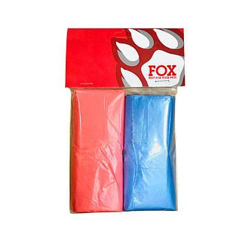 Пакеты для фекалий FOX 27 10см, 1уп/2рулона (80шт)