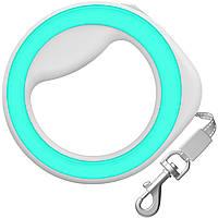 Поводок-рулетка WAUDOG круглая, для собак мелких и средних пород до 40 кг