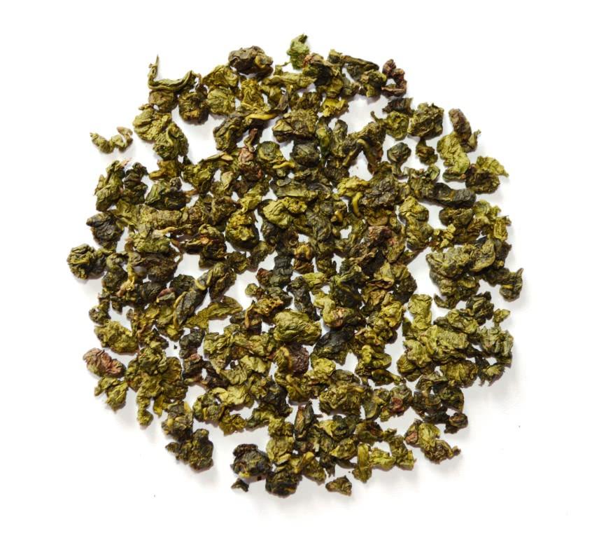 Чай зеленый полуферментированный рассыпной листовой зеленый чай Те Гуань Инь 100 г