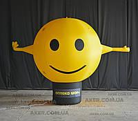 Аэромен-зазывала Шар Смайл, 3 метра