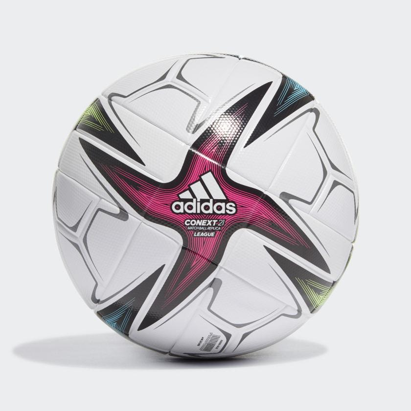 Мяч футбольный Adidas Conext 21 League Football №5 GK3489 Белый
