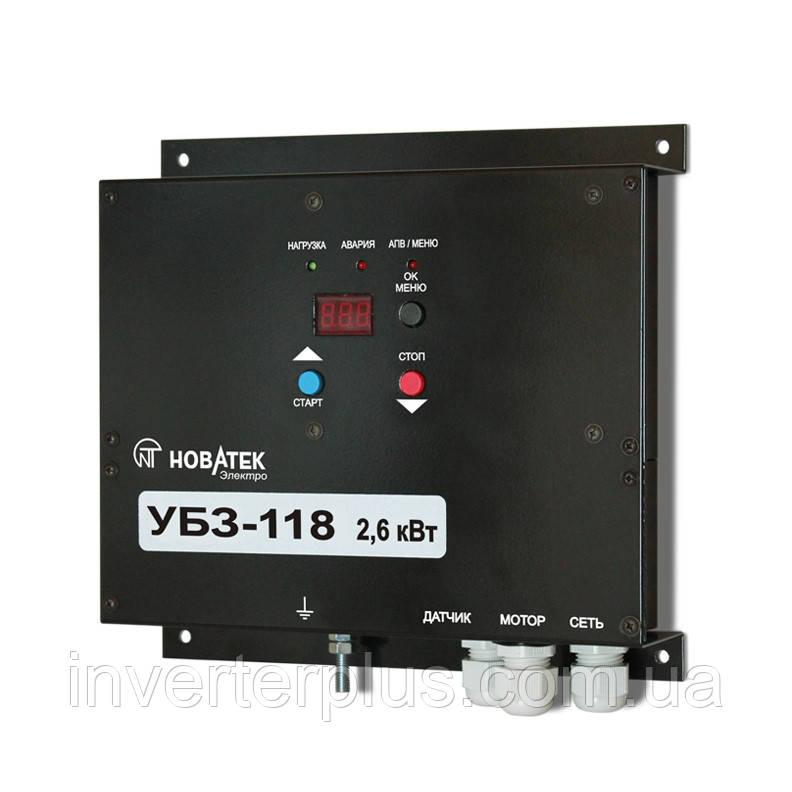 УБЗ-118. Універсальний блок захисту електродвигунів.
