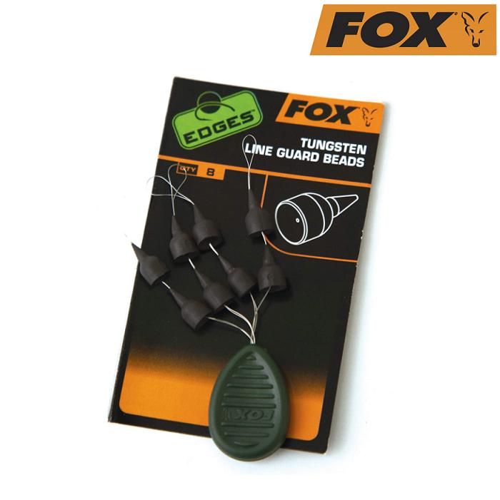 Вольфрамовые защитные бусины Fox Edges Tungsten Line Guard Beads (8шт)