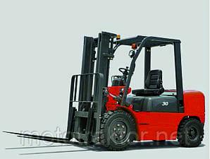 Автонавантажувач дизельний вилочний ДТЗ АВД30Т-3К