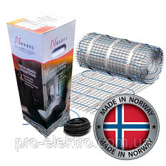 Нагревательный мат Nexans (Норвегия)  MilliMat® 1800W 12m²
