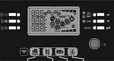 AXIOMA energy 5000Вт гибридный ИБП ISMPPT BFP 5000 48В + MPPT на 5кВт Battery Free+Parallel, фото 2