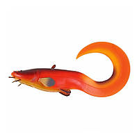 Виброхвост огруженный DAM Effzett Catfish Curl Tail 250мм 220гр (mandarin)