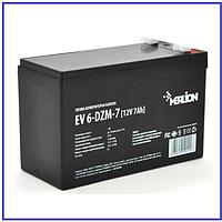 Тяговый аккумулятор Merlion EV 6-DZM-7 12V 7Ah F2 (151*65*93) Q10, фото 1