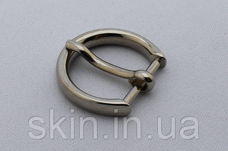 Пряжка ременная, ширина - 20 мм, цвет - никель, артикул СК 5476, фото 2