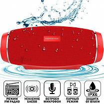 Портативная влагозащищенная Bluetooth колонка HOPESTAR H27 Red, фото 2