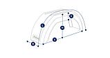 Крыло для легкового прицепа B=180мм, фото 2