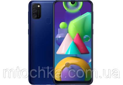 Телефон Samsung SM-M215F Galaxy M21 2020 4/64GB Duos blue (официальная гарантия)