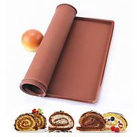 Силиконовый коврик для выпечки с бортиками арт. 870-500116