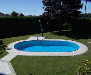 Збірний каркасний басейн Hobby Pool TOSCANA 3,20 х 5,25 х 1,5 м плівка 0.6 мм