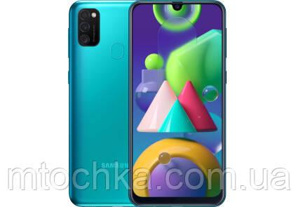 Телефон Samsung SM-M215F Galaxy M21 2020 4/64GB Duos green (официальная гарантия)