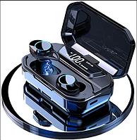 Беспроводные сенсорные блютуз наушники AirPlus Pro TWS G02 вакуумные c кейсом Power bank 3300mah