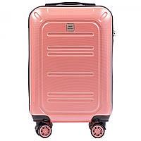 Чемодан поликарбонат Wings PC 175 маленький - ручная кладь (S, 35 л) Розовый (Pink)