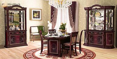 Комплект меблів для вітальні Chicago (перо рубіно)