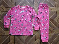 Детская пижама для девочек 1-2 .  2-3.   3-4.  4-5 лет Турция интерлок