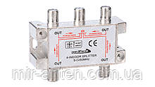 Сплиттер 4-WAY Splitter OpenFox CAS-408C с проходом питания