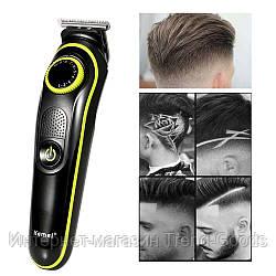 Машинка для стрижки волос беспроводная Kemei KM-691 SKL11-276466