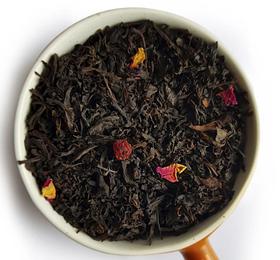 Чай черный рассыпной листовой черный чай Смородина и черника 50 г