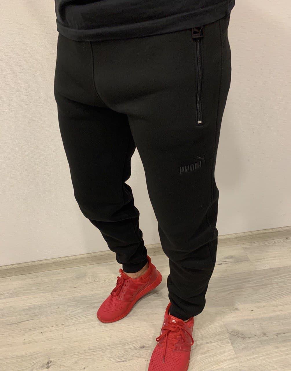 Теплые мужские спортивные штаны Puma Snow