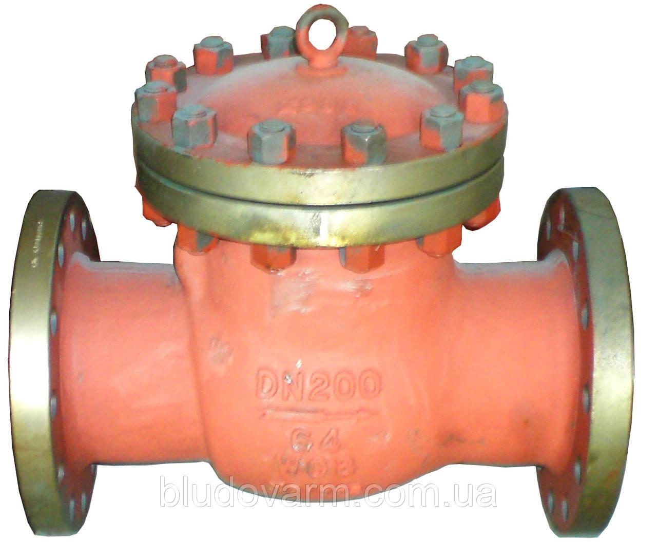 Клапан обратный стальной 16с13нж, 16с10нж, 19с53нж, 19с63нж Ду15-200