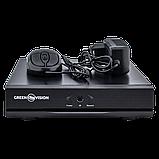 УЦ 4614 Гибридный видеорегистратор AHD Green Vision GV-A-S032/04 ** 1080N, фото 5