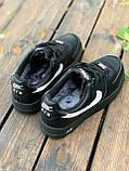 Женские кроссовки  Nike на меху черные(копия), фото 4