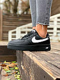 Женские кроссовки  Nike на меху черные(копия), фото 2
