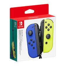 Геймпад (джойстик) Nintendo Switch Joy Con Yellow/Blue (пара)