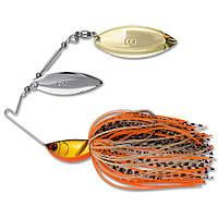 Спиннербейт Nomura Double Spinnerbait 15гр цвет-717 (Orange-Gold)