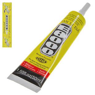 Клей герметик Е8000 для приклеивания тачскрина дисплея 50 мл