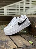 Женские кроссовки  Nike на меху белые(копия), фото 2