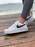 Женские кроссовки  Nike на меху белые(копия), фото 3