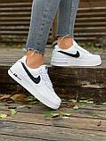 Женские кроссовки  Nike на меху белые(копия), фото 6