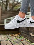 Женские кроссовки  Nike на меху белые(копия), фото 8