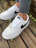 Женские кроссовки  Nike на меху белые(копия), фото 10