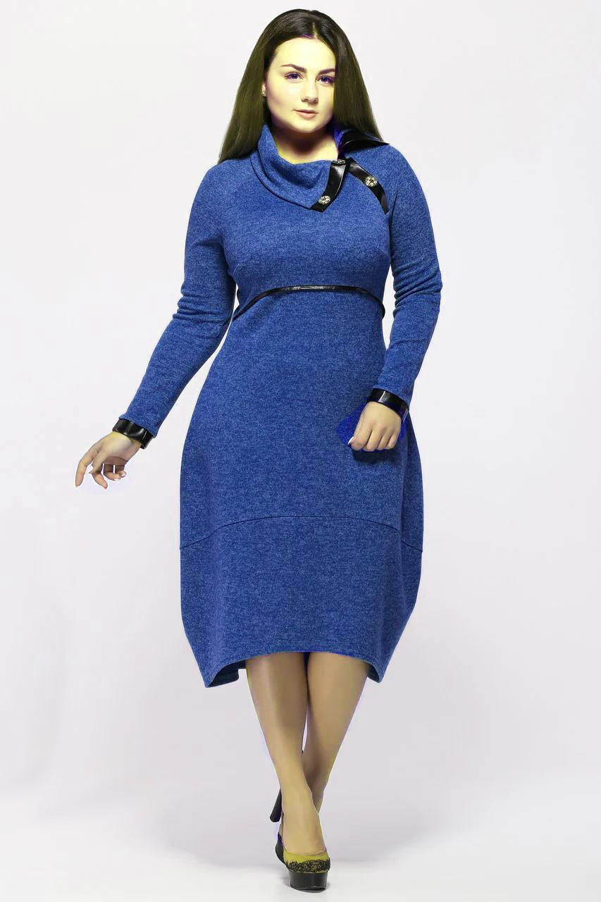 Платье Шарлотта электрик 52 р