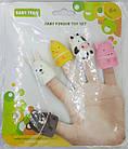 """Игрушки для ванной на пальцы """"Веселая детвора"""" BabyTeam, 6+ арт. 8700, в наборе 5 шт., фото 2"""