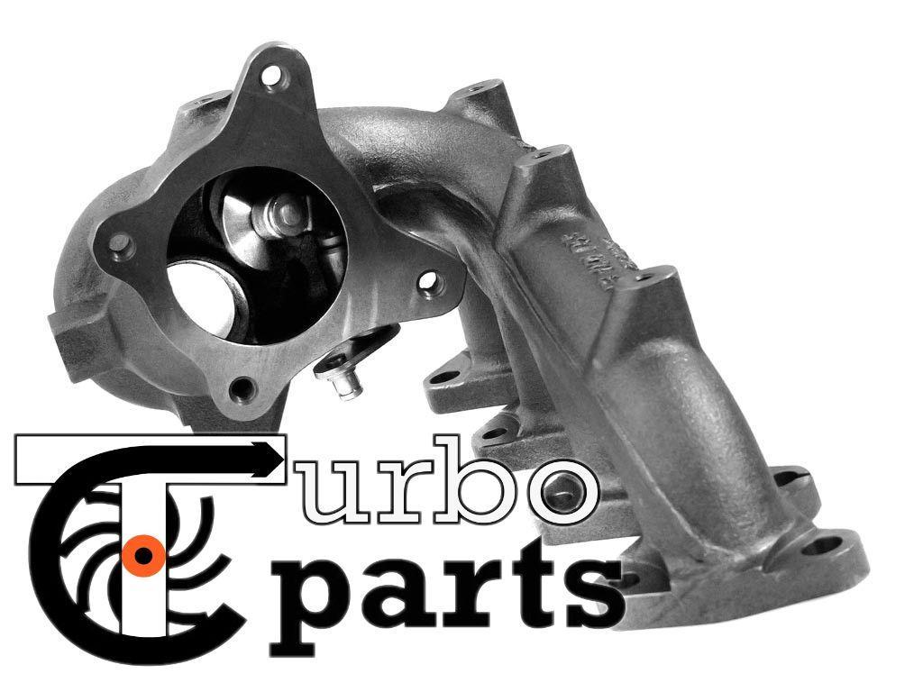 Корпус турбины Audi A3 1.4TSI (8P/PA) от 2007 г.в. - 49373-01001, 49373-01002, 49373-01003, 49373-01004