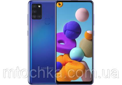 Телефон Samsung SM-A217F Galaxy A21s 2020 3/32GB Duos blue (официальная гарантия)
