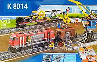 """Конструктор """"Грузовой поезд на радиоуправлении"""" (K 8014) 1078 деталей."""