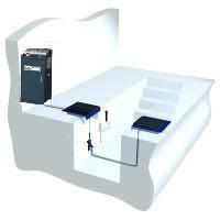 Детектор люфтов, для автомобилей с нагрузкой на ось до 3,0т, электрогидравлический