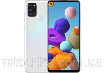 Телефон Samsung SM-A217F Galaxy A21s 2020 3/32GB Duos white (официальная гарантия)