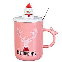 """Чашка """"Merry Chistmas"""" 350мл*рандомный выбор дизайна (8200-022), фото 1"""