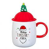 """Чашка """"Новогодняя"""" 400мл *рандомный выбор дизайна (8200-021), фото 4"""